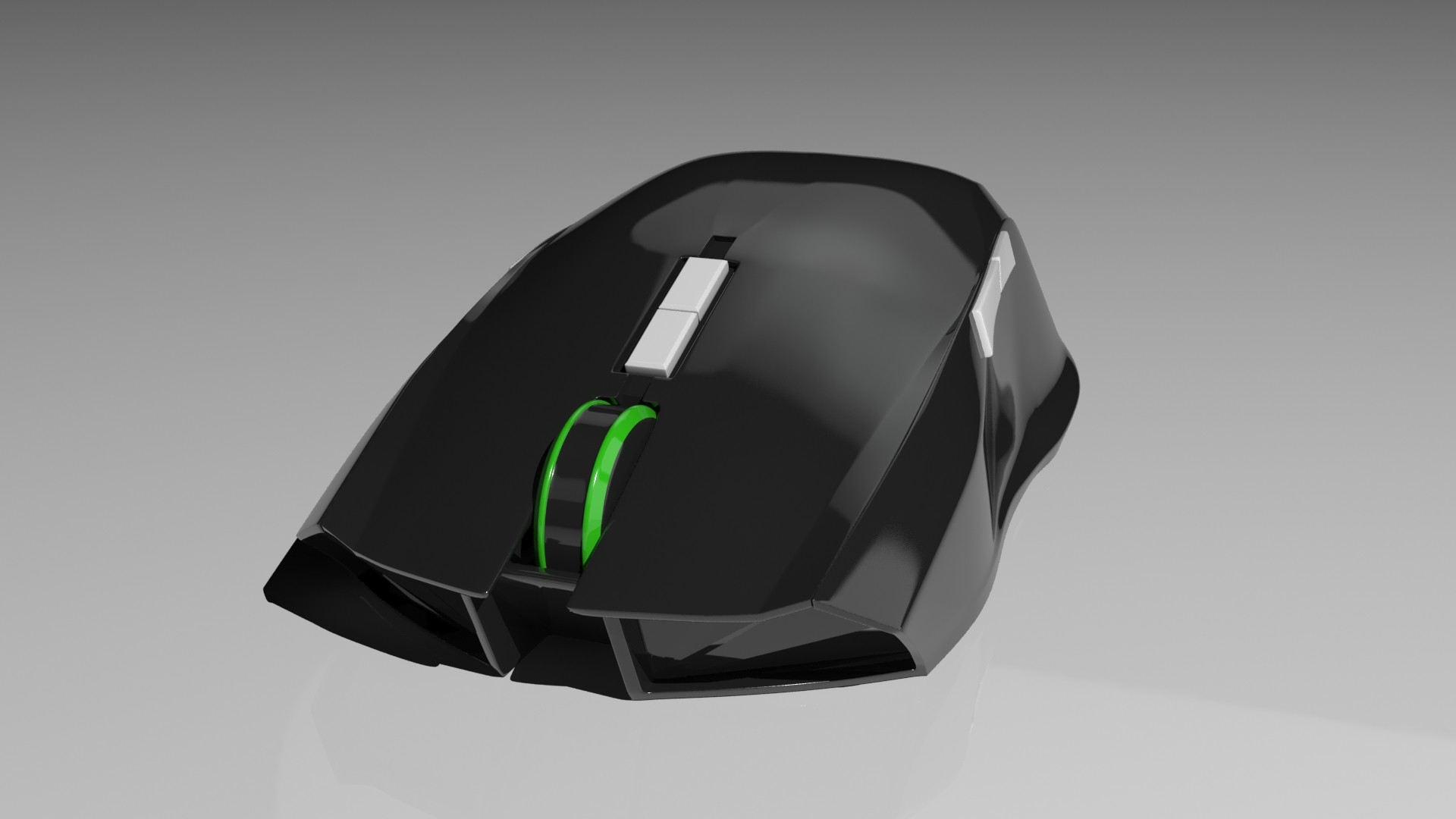 Marko Ui Gaming Mouse Razer Taipan White Buy It Here Https Cgtradercom 3d Models Electronics Computer Similiar Design As