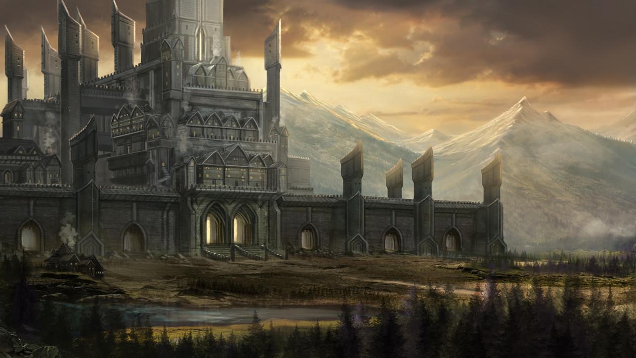 Robert crescenzio fantasy city by robertcrescenzio d9yuqfd