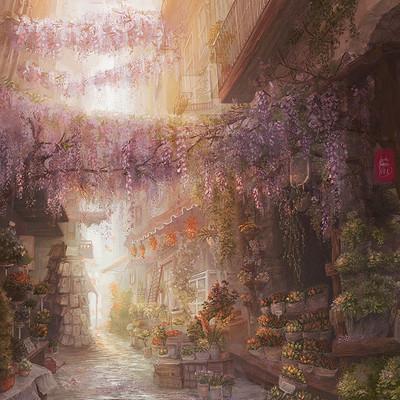 Sarah buchholz papilio art flower market clean