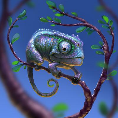 Jonah lobe chameleon