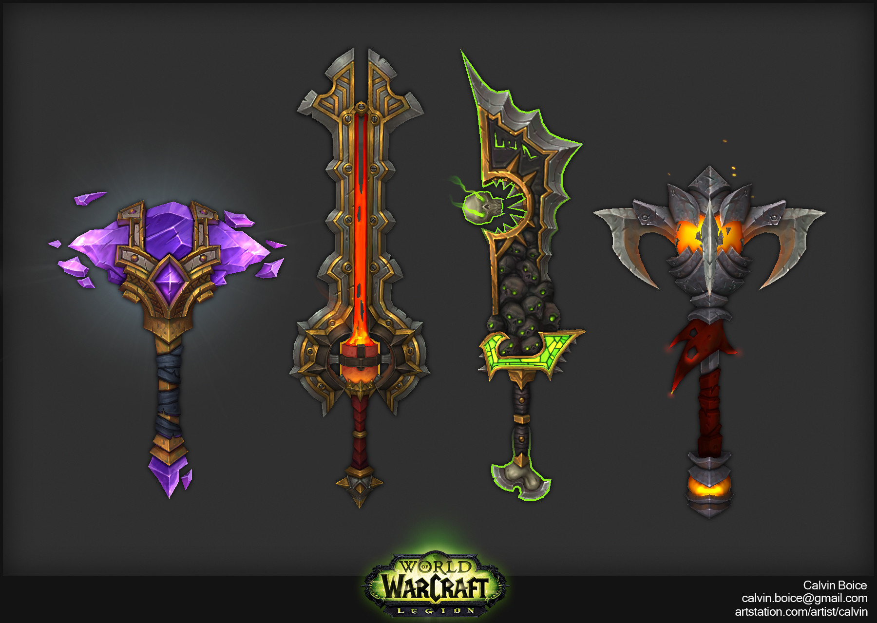 WoW Legion: 20 New & Updated Druid Forms - All Races ...