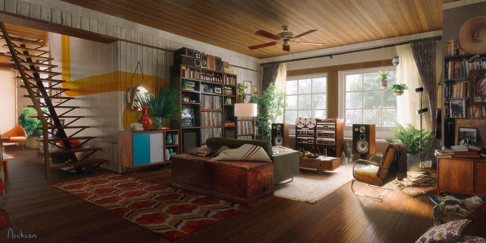 70s Listening Room