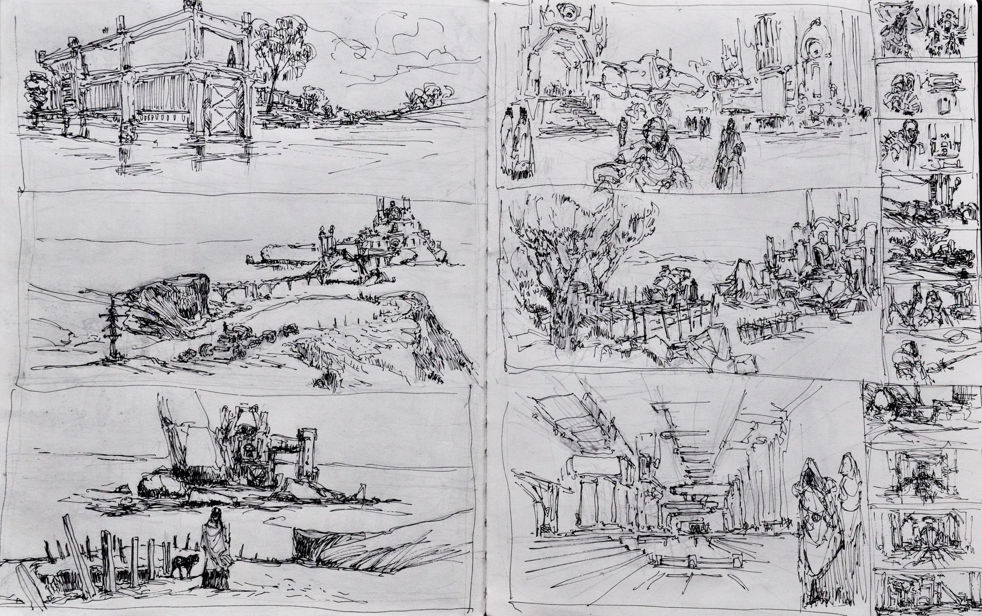 Wojciech bajor lokacje szkice 3