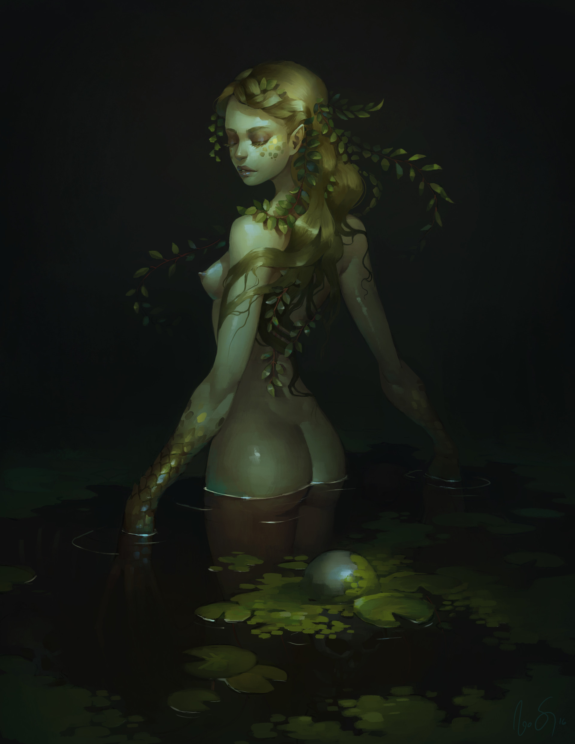 Naomi savoie lady of the swamp