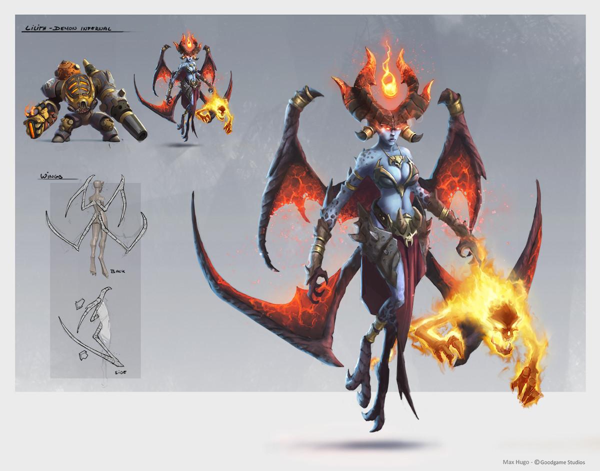 Max hugo lilith infernals 1