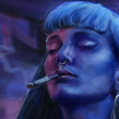 Chelsea cabral cai smokinggirl copy2
