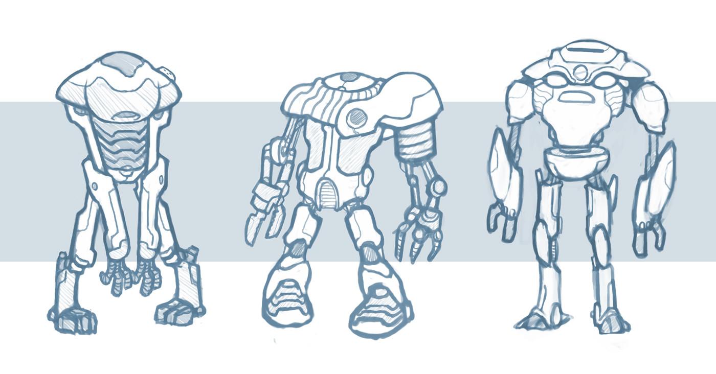 Patri balanovsky robo sketches 2