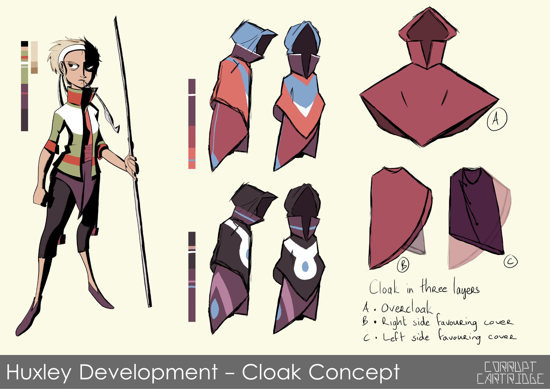 Craig mullins 12 huxley cloak a