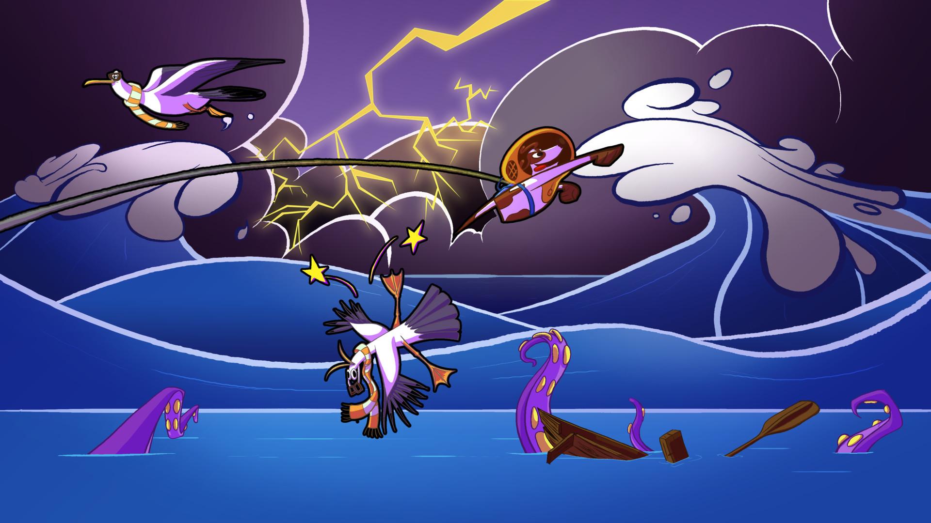 Craig mullins fishing game storm level 01