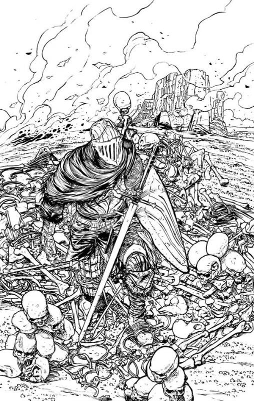 Dark Souls 1 Official Cover - Titan Publishing
