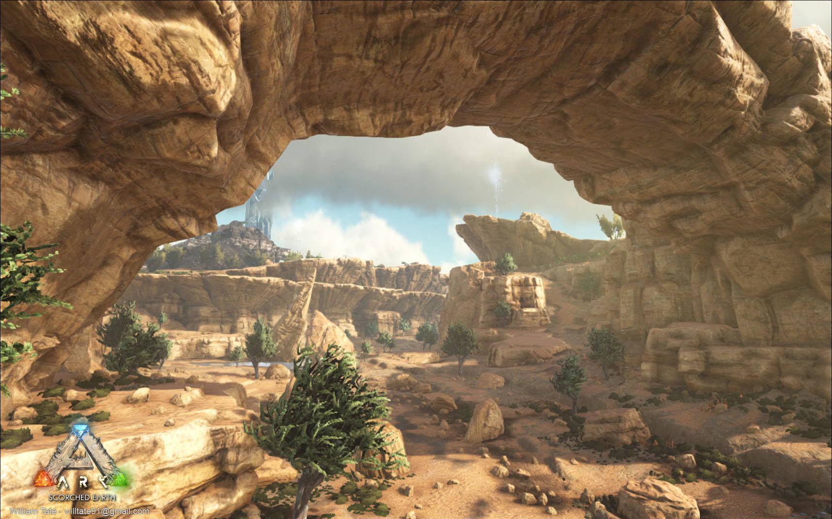 ArtStation - Ark: Scorched Earth DLC - Vistas, William Tate