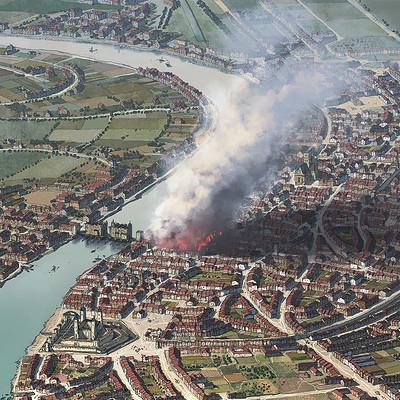 Rocio espin pinar london great fire 1666