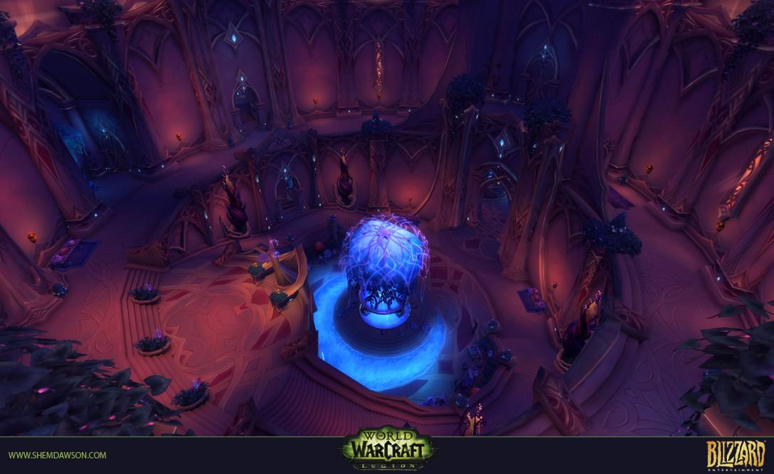 Shem dawson suramar dungeon 13