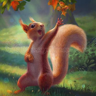 Vasilyna holod squirrel