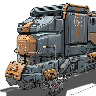 Timo peter railcar illustration 03