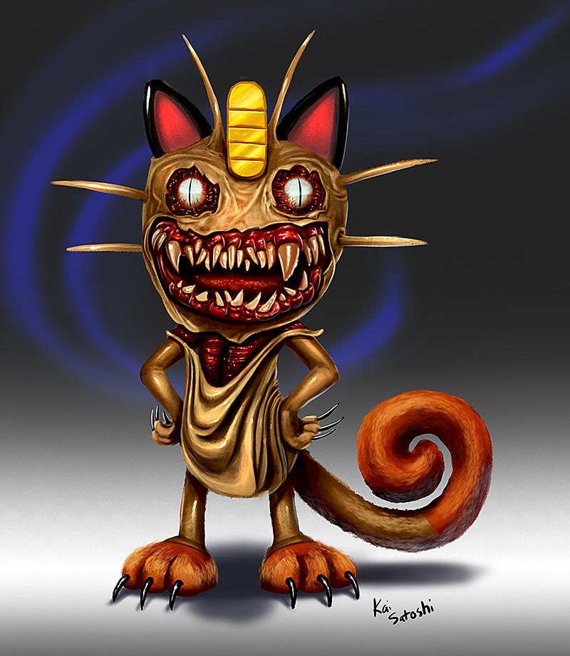 Kai satoshi meowth small