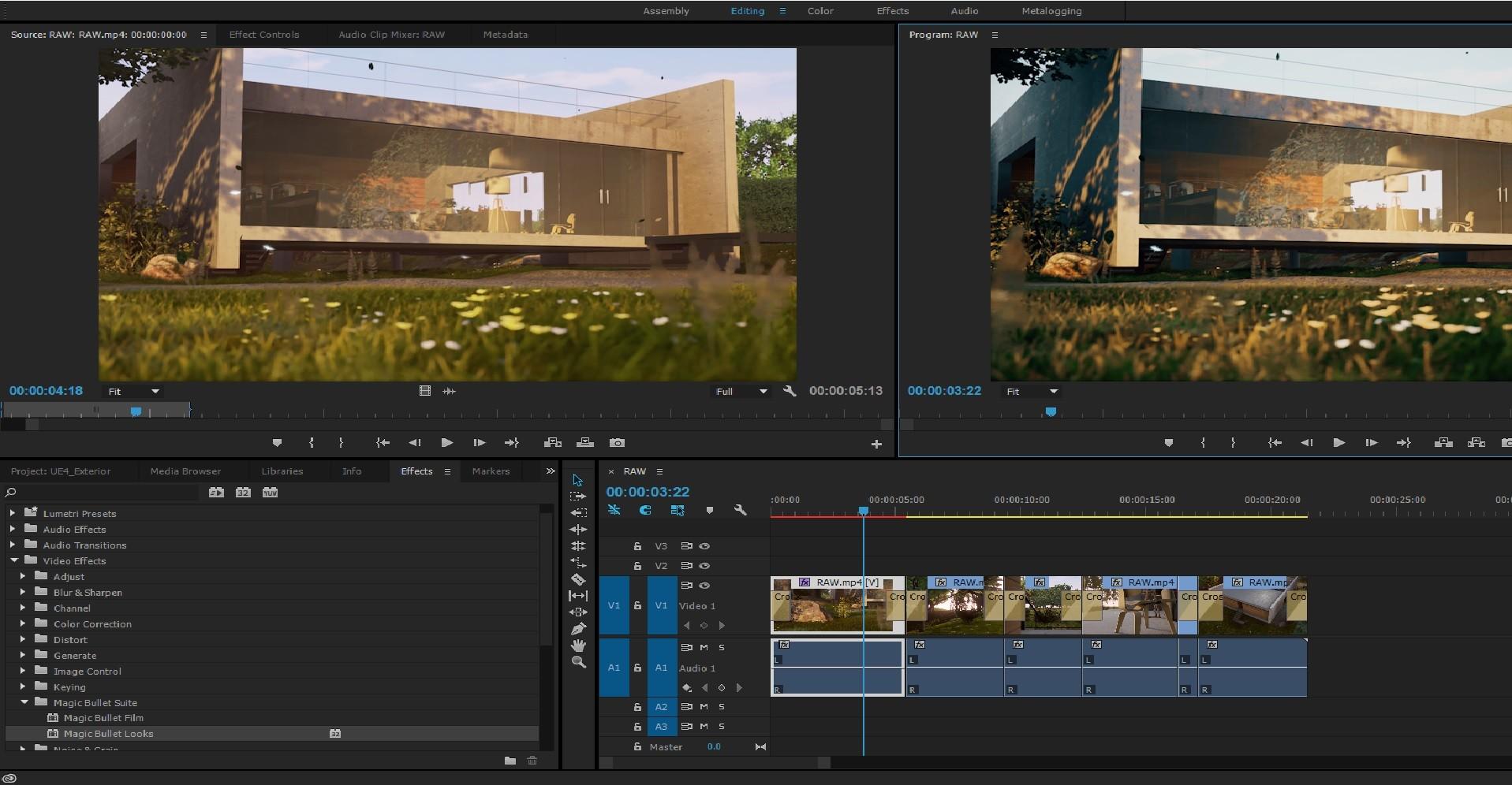 Premiere Pro CC Post Processing