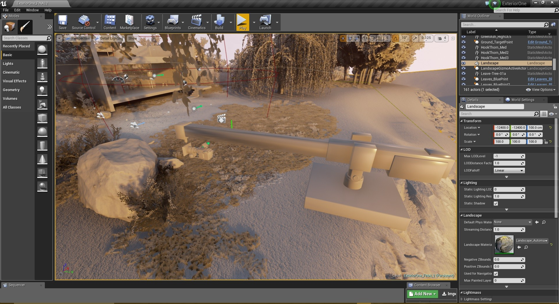 Unreal Engine 4 - Camera Crane rig 01