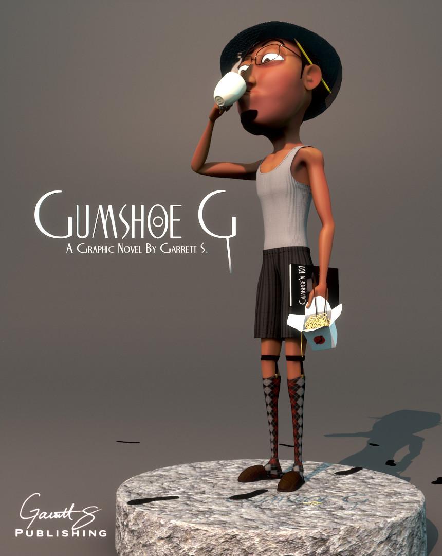 Garrett s gumshoe g cover design final1