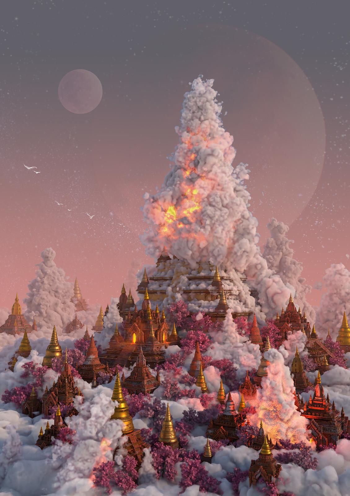 wonders: Myanmar heaven