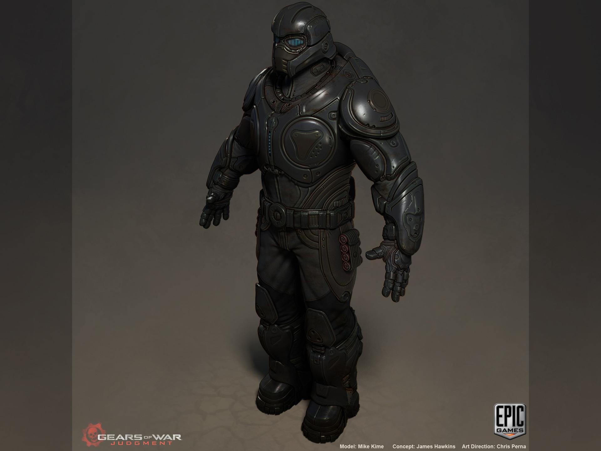 Artstation Gears Of War Judgement Onyx Guard Mike Kime