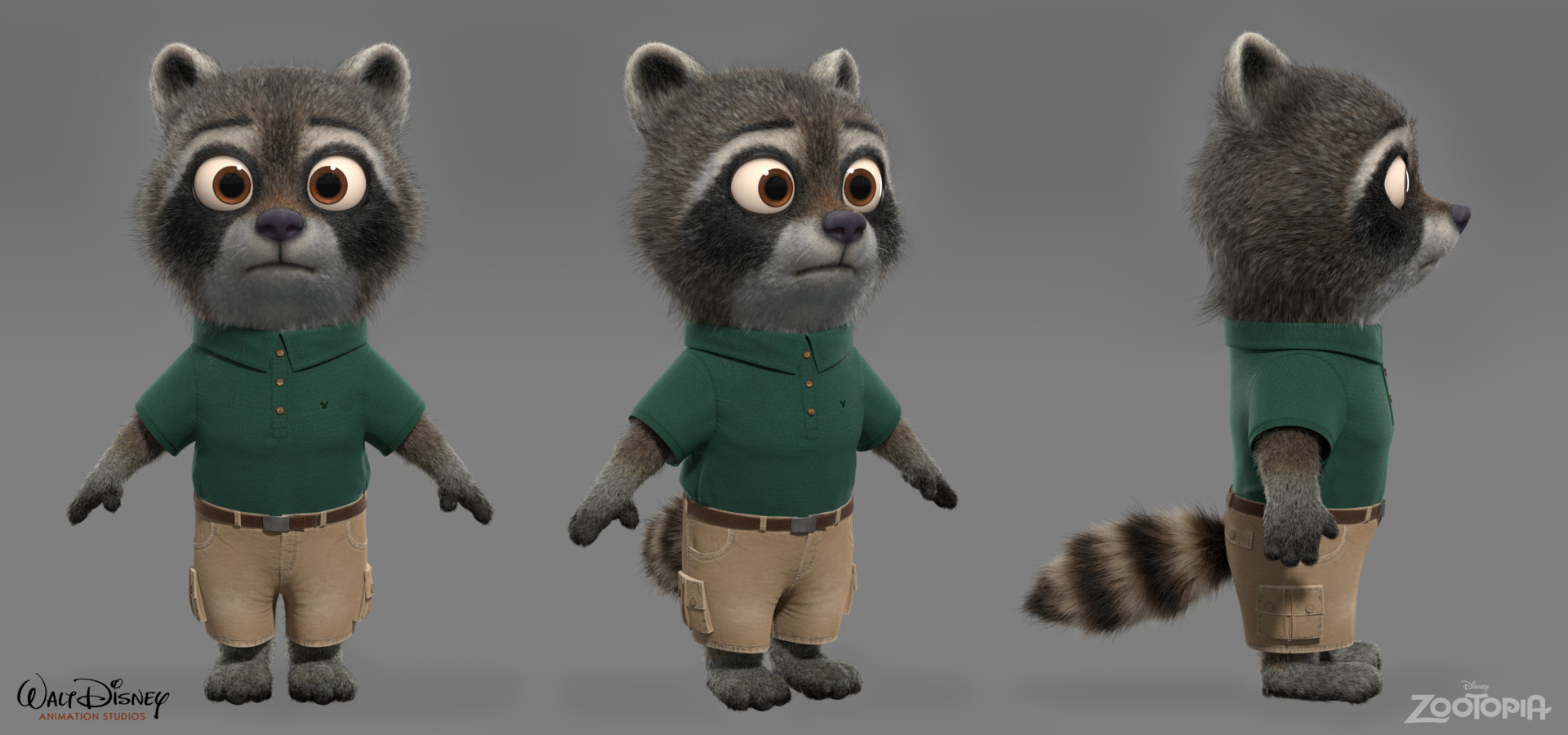 Tyler bolyard disneyartstation raccoonkid