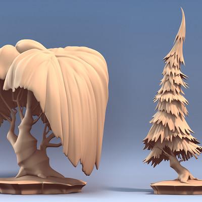 Tyler bolyard tree sculpts