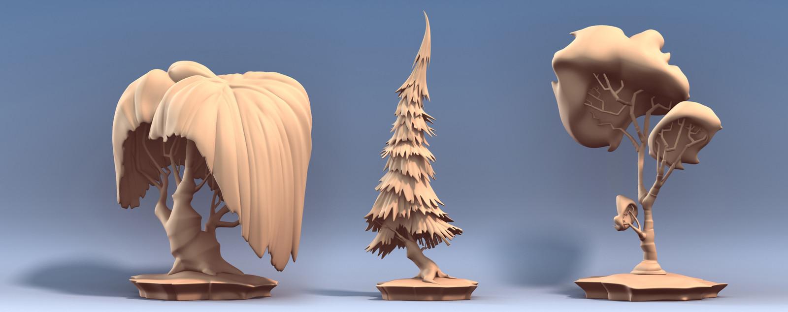 Tree Sculpts