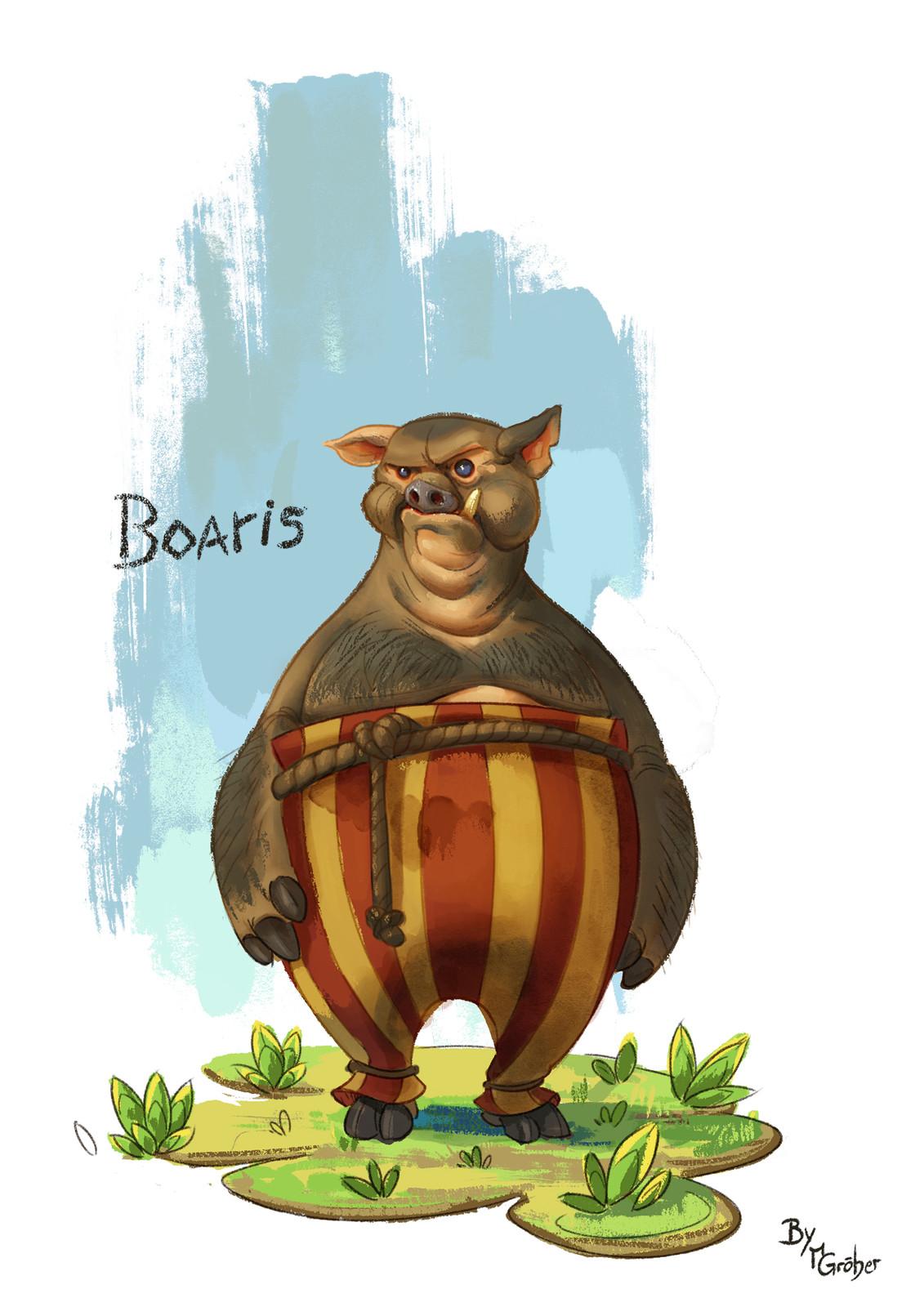 Boaris character painting