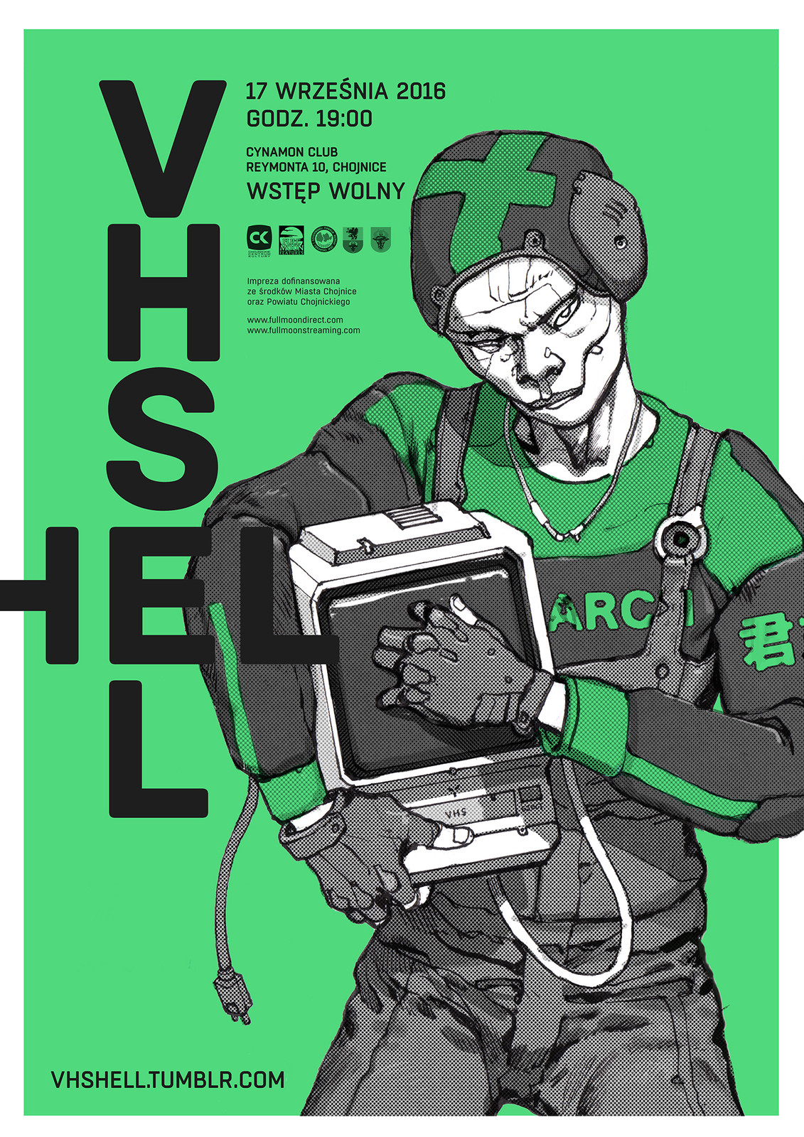 VHS HELL Poster