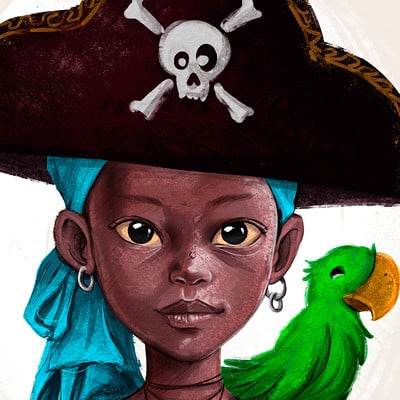 Luiz raffaello pirate girl