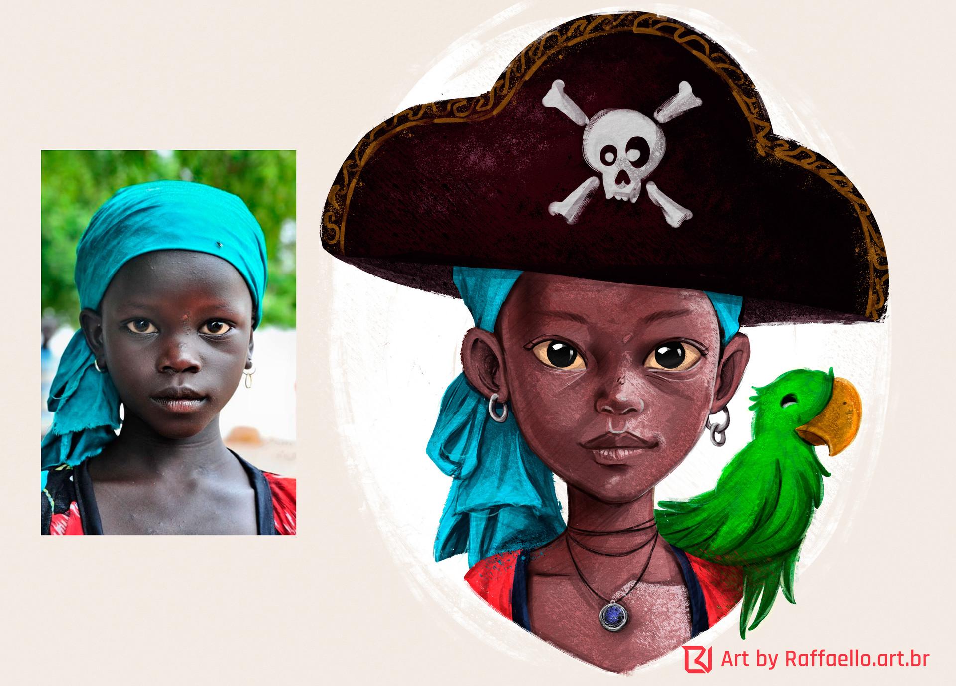 Luiz raffaello pirate girl
