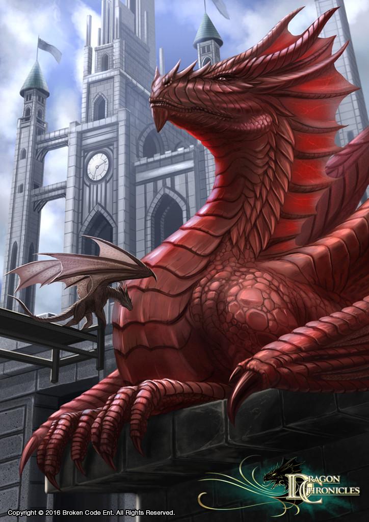 Robert crescenzio king of the dragon dc dtf robertcrescenzio by robertcrescenzio dagr2j1
