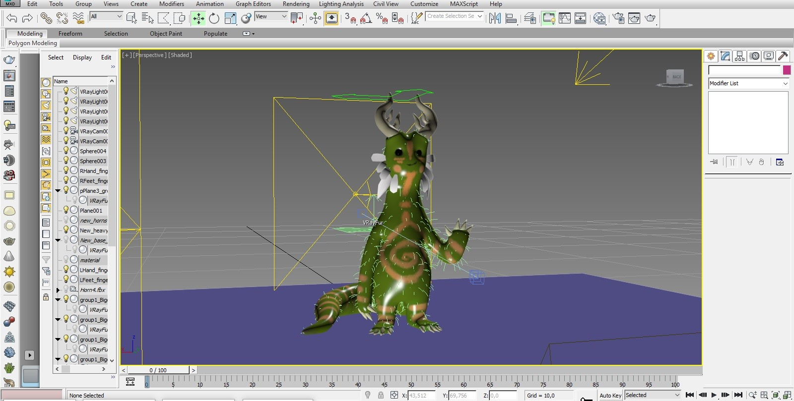 3ds Max Interface
