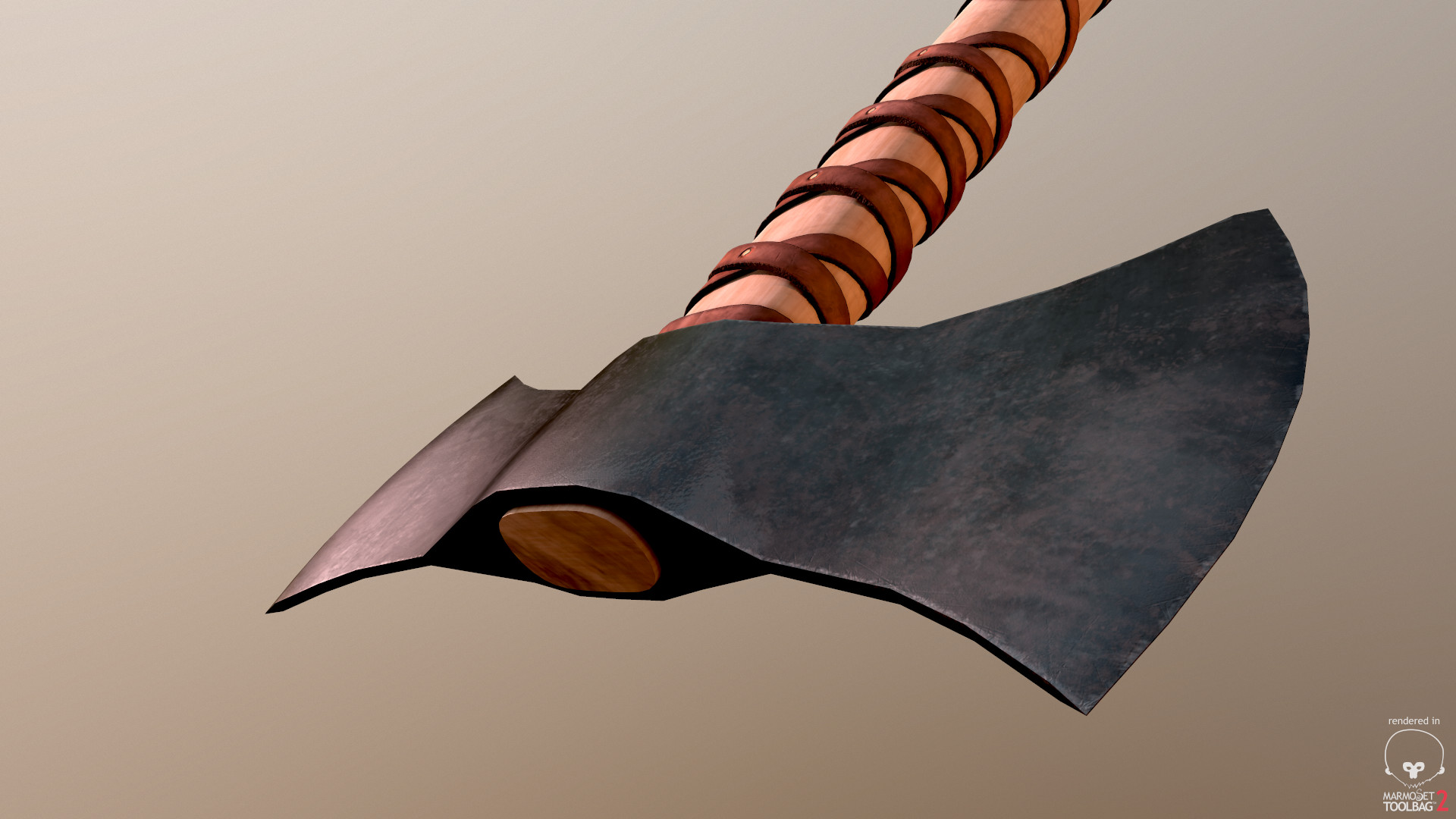 Bela csampai two headed viking axe preview mt 03
