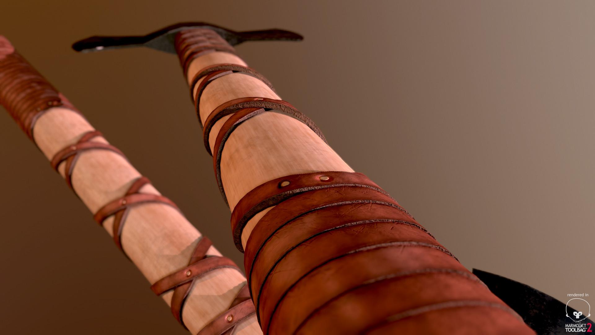 Bela csampai two headed viking axe preview mt 05