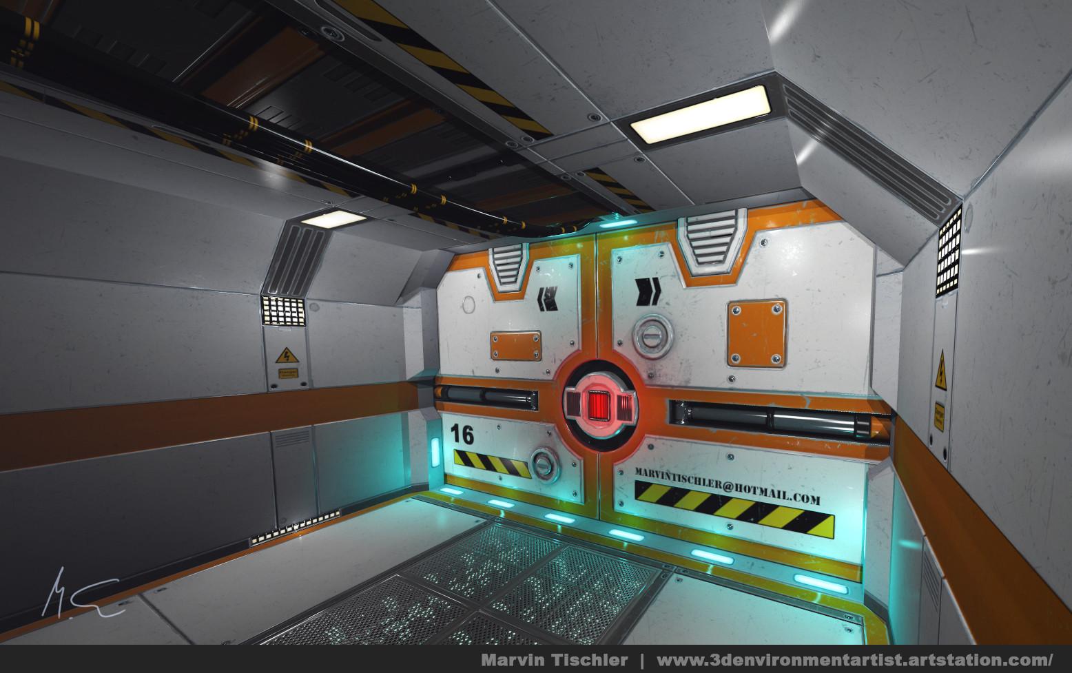 Marvin tischler hallway scifi 001 a