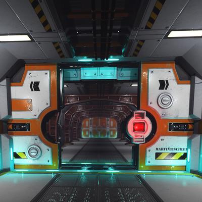 Marvin tischler hallway scifi 001 c