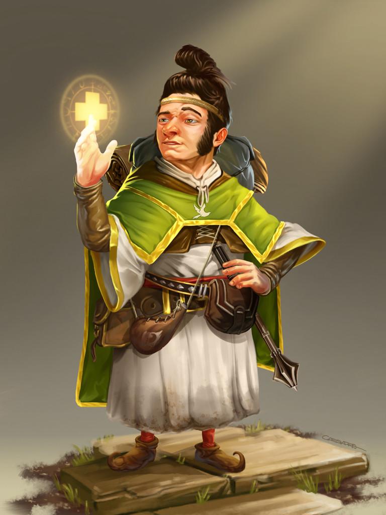 Halfling Cleric