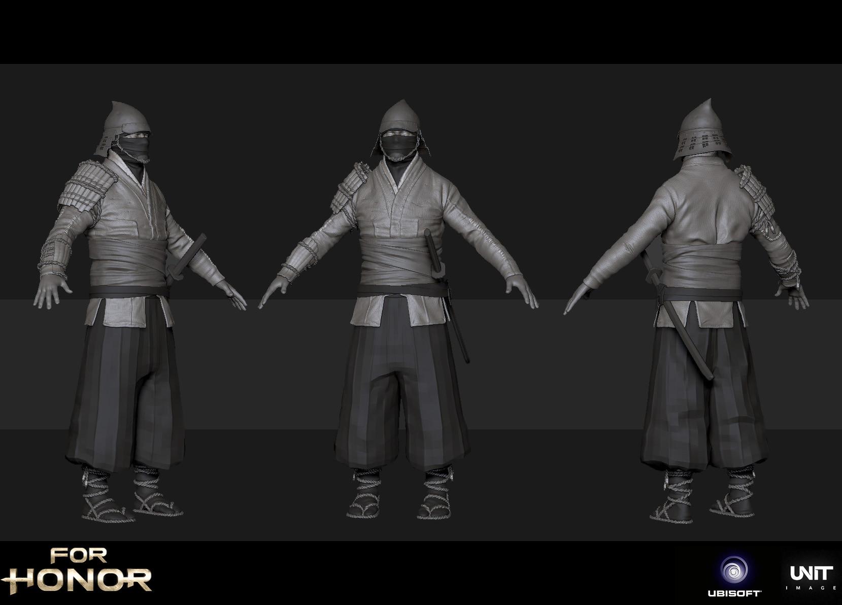 ArtStation - For Honor E3 2016, Samuel Compain-Eglin