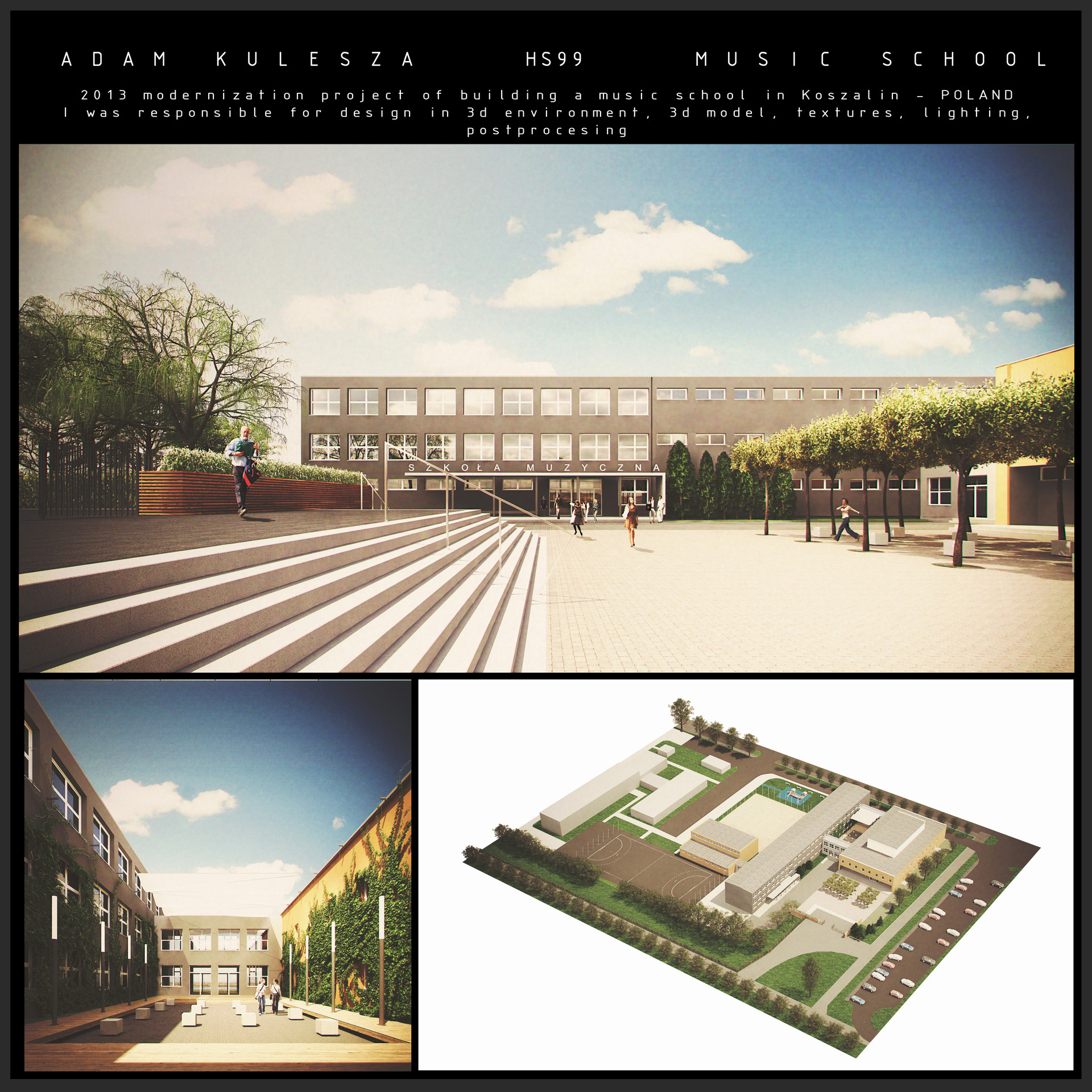 Adam bernard kulesza 2013 portfolio hs99 szkola muzyczna s