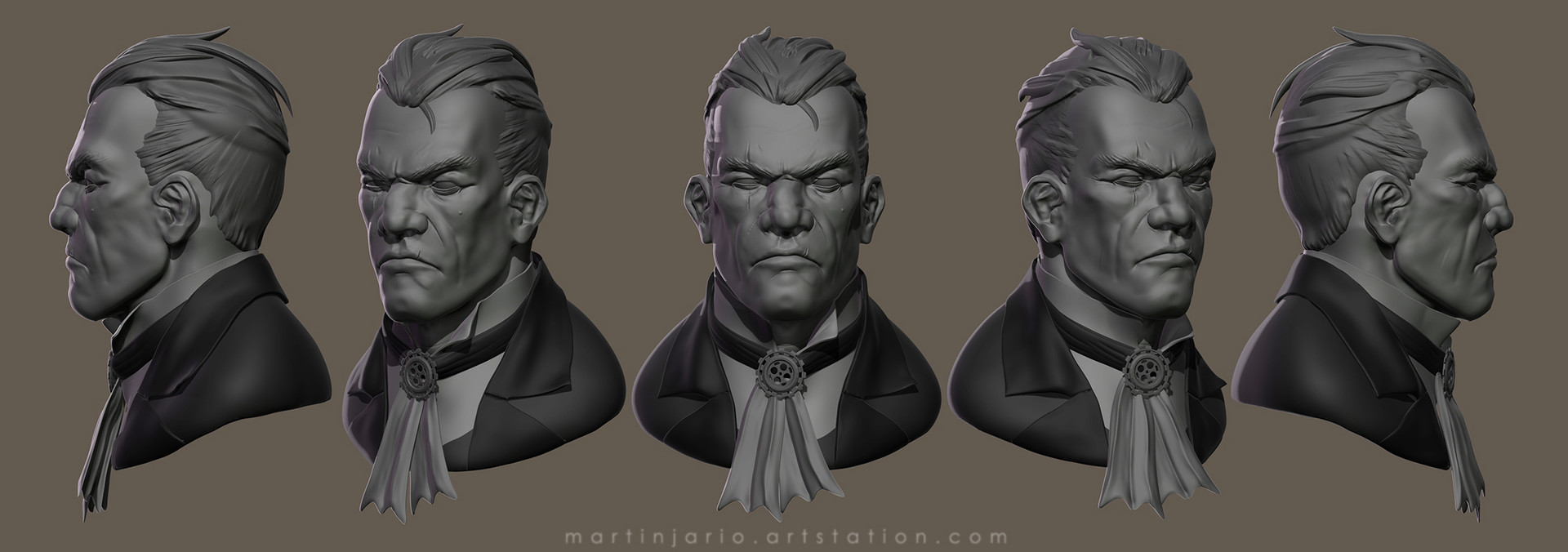 Martin jario views martinjario dishonored zbrush