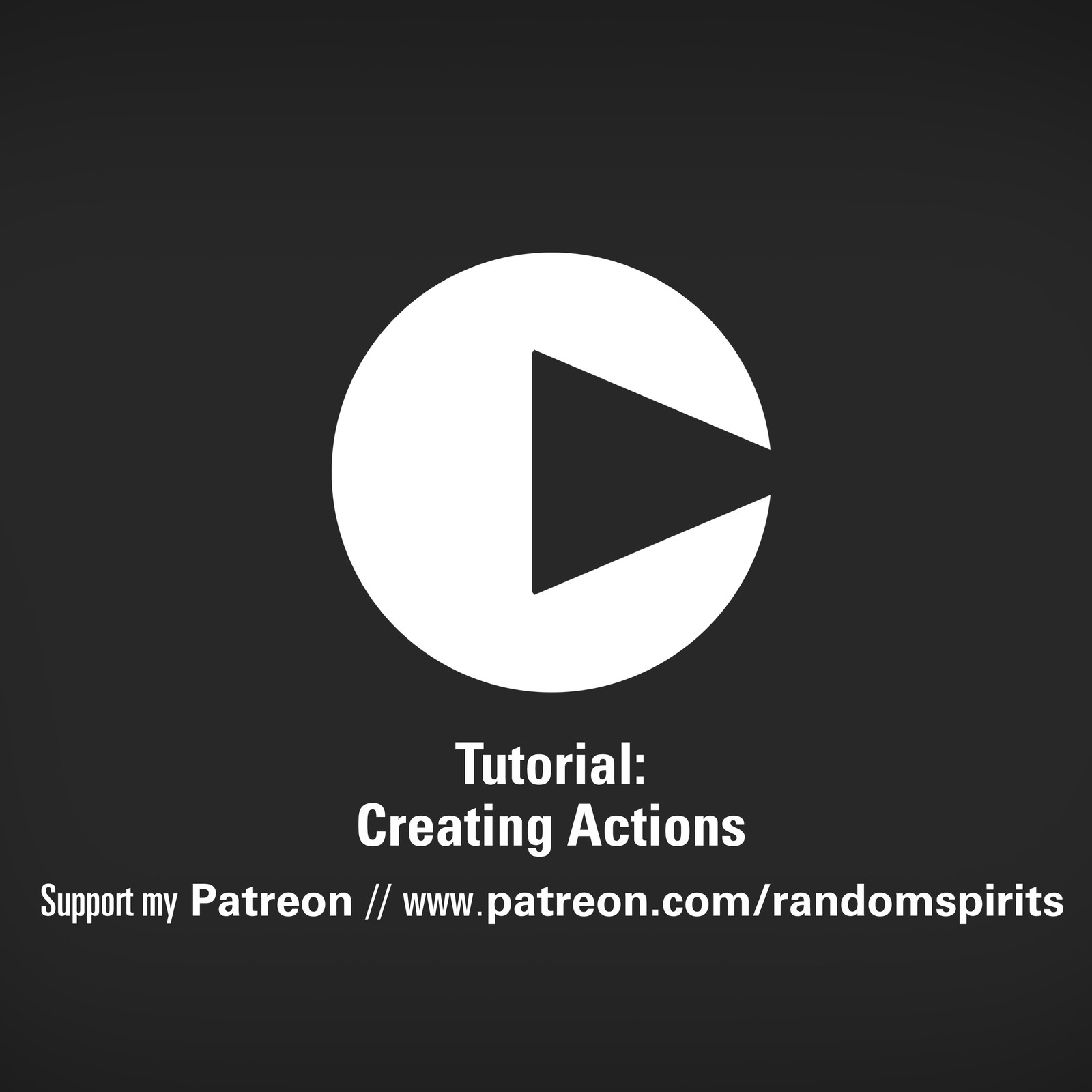 Tutorial: Actions