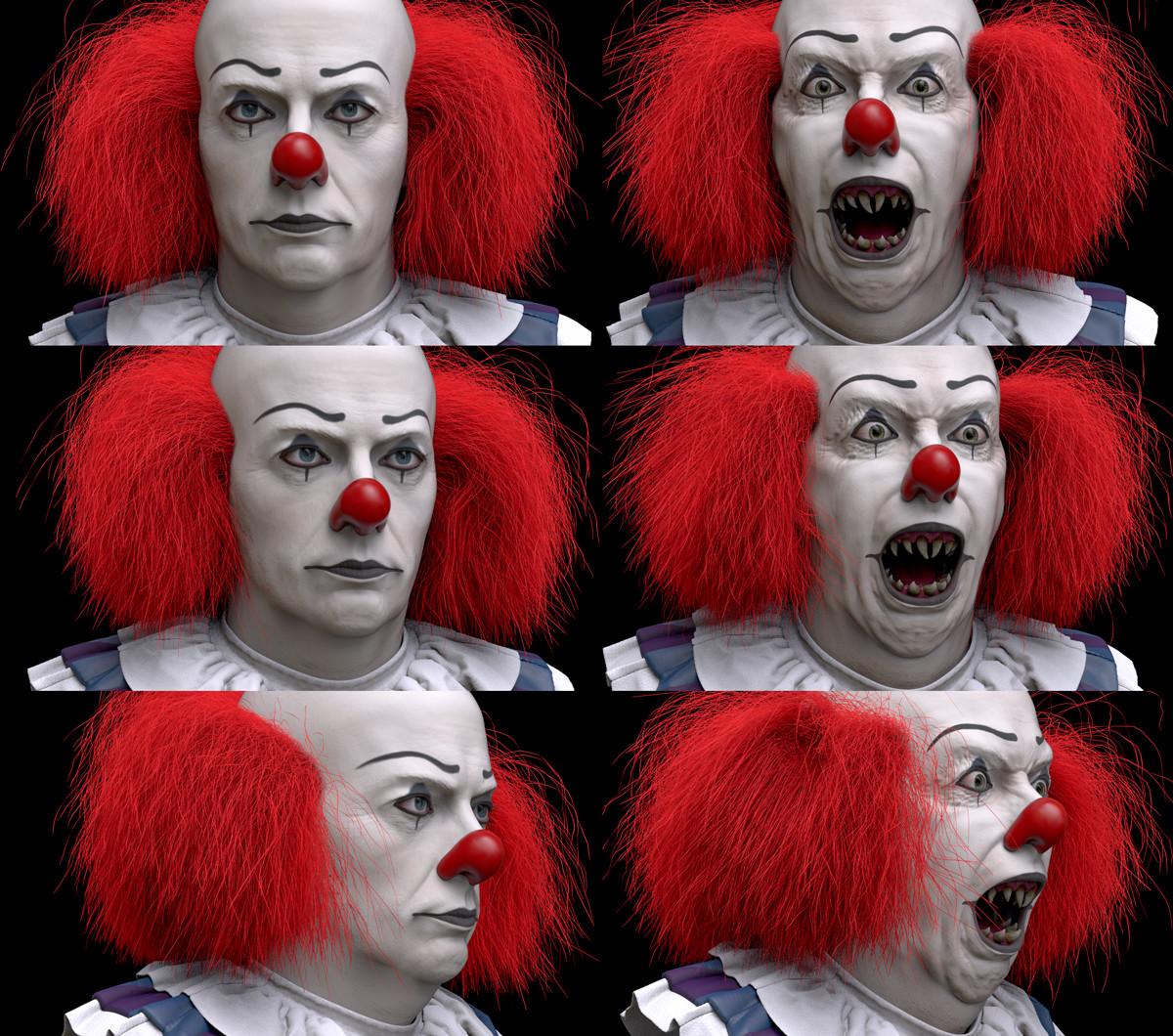 Joseph pegurier clowntt