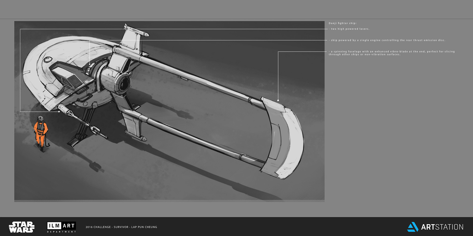 ILM Art Department Challenge - The Job - Part 2 - Vehicle Design