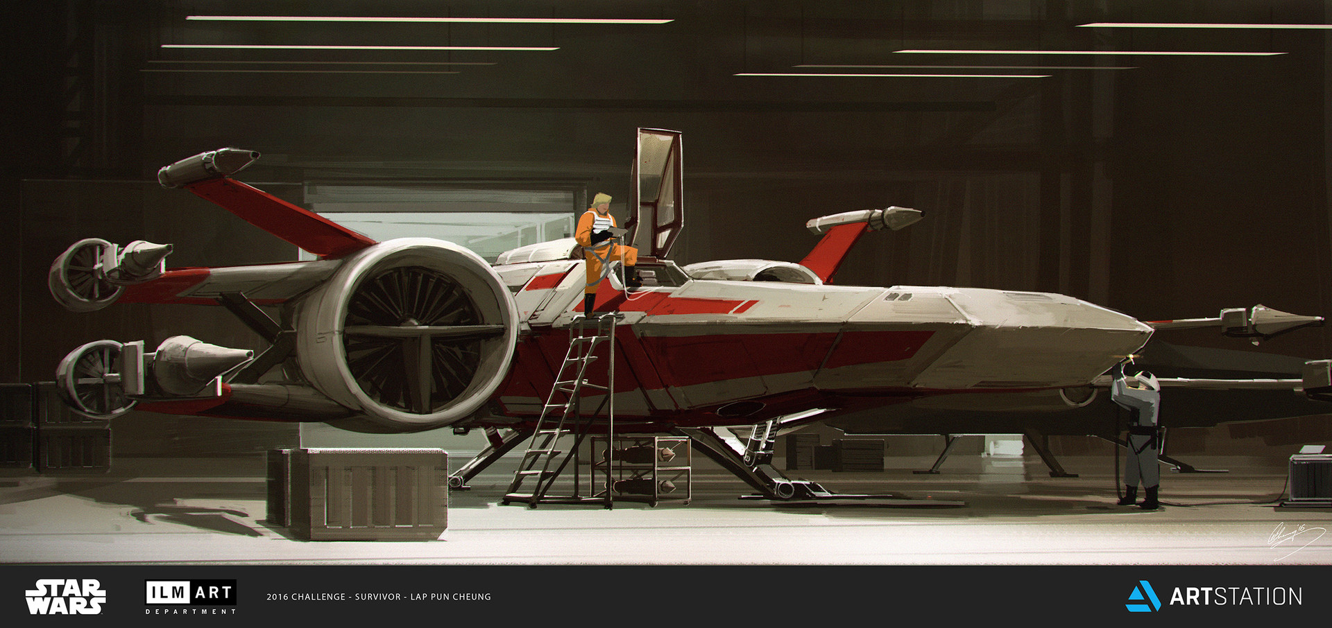 ILM Art Department Challenge - The Ride - T-68 Prototype