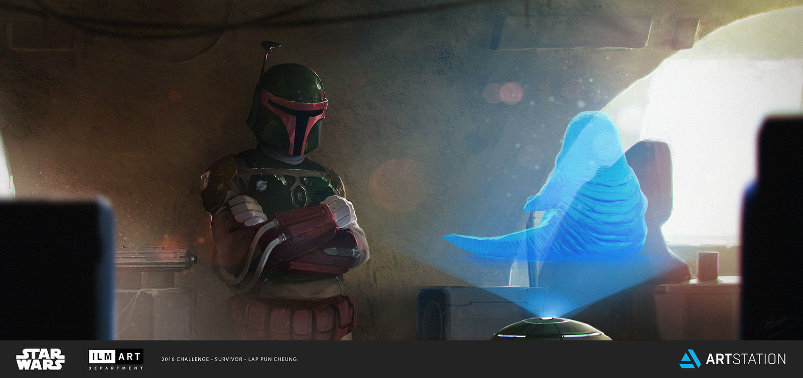 ILM Art Department Challenge - The Moment - Mandalorian