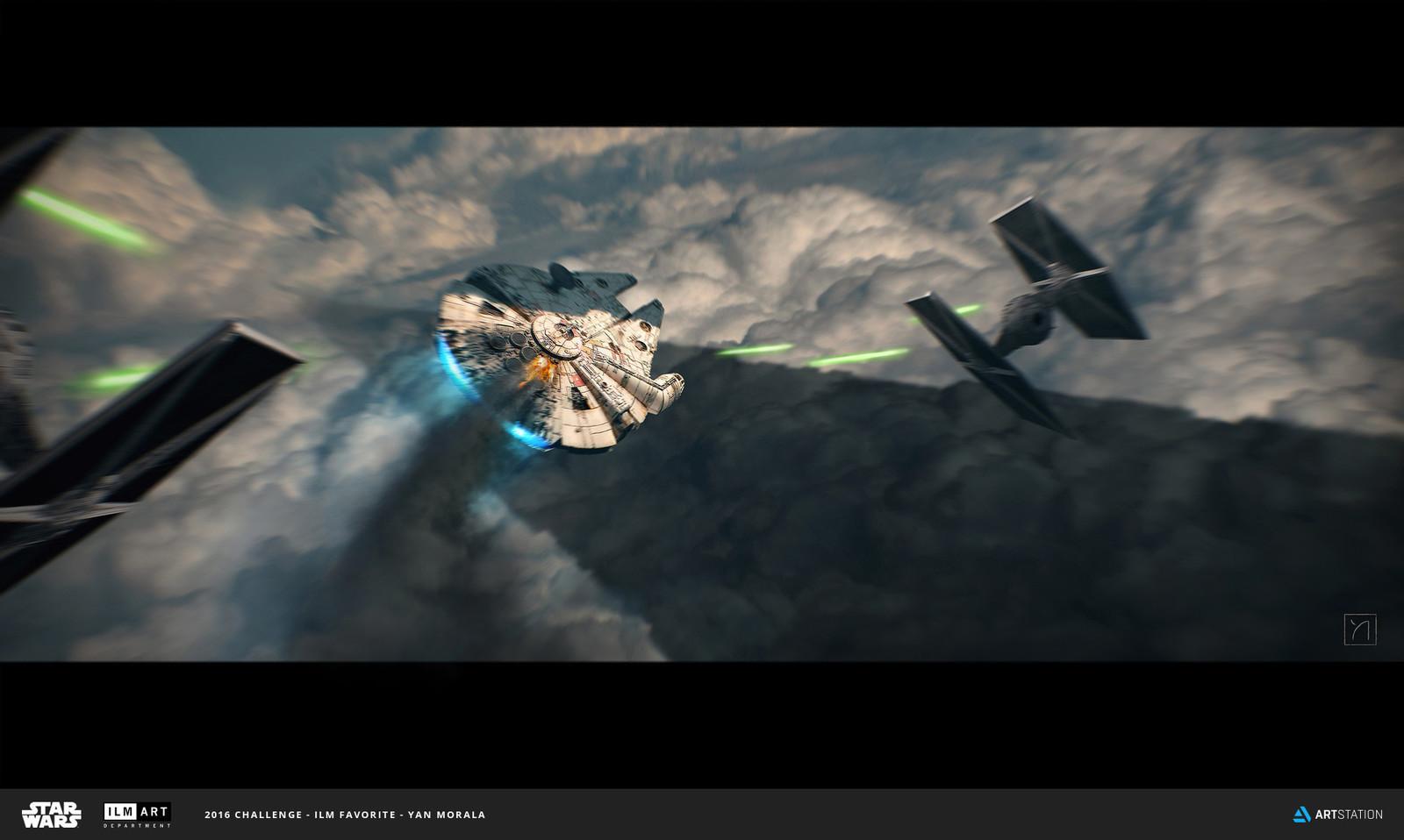 Millennium Falcon Escape