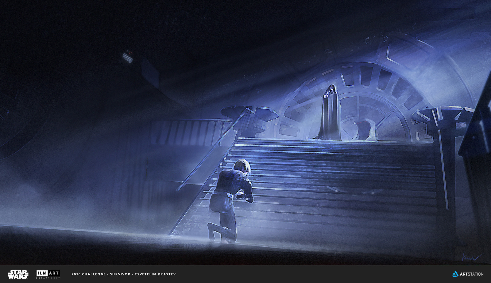 "ILM Art Department Challenge - ""Like father,like son"""