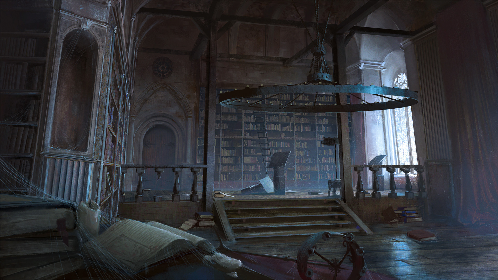 Klaus pillon abandoned library final